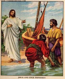 Jesus calls the fishermen