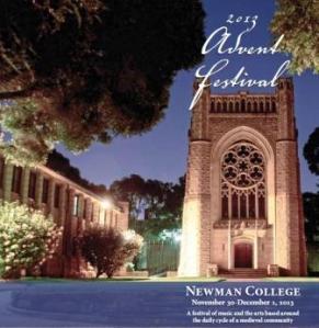 Newman College Advent Festival 2013