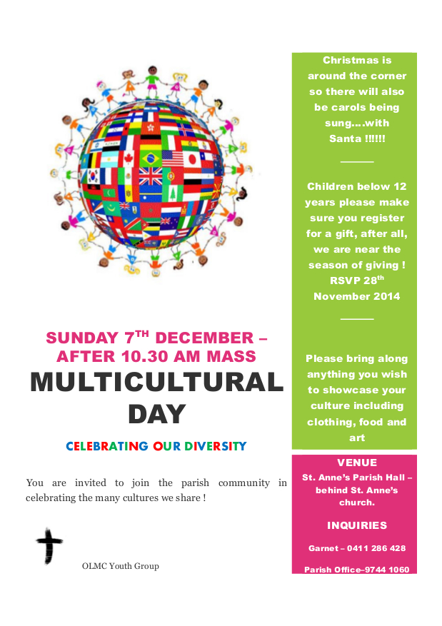 Multicultural Day Notice