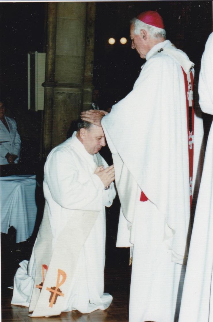 Fr Bert Ordained